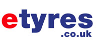 5% off at etyres Logo